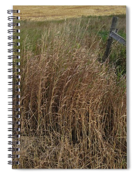 Old Fence Line Spiral Notebook