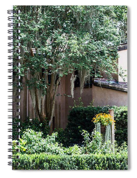 Old Florida Style Spiral Notebook