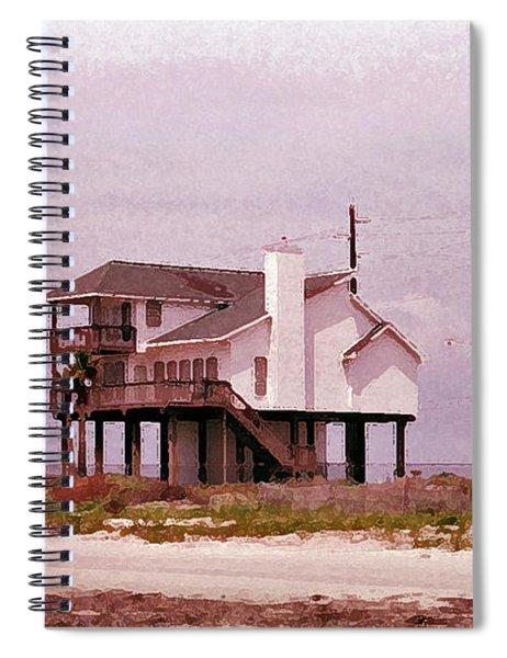 Old Galveston Spiral Notebook