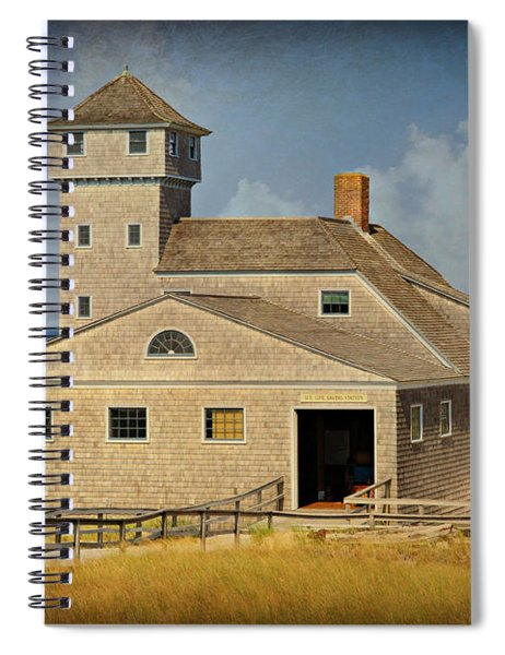 Old Harbor Lifesaving Station On Cape Cod Spiral Notebook