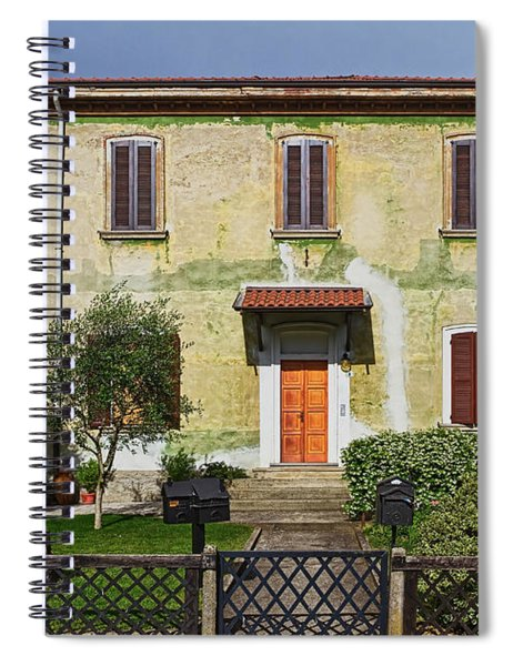 Old House In Crespi D'adda Spiral Notebook