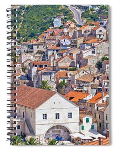 Old Island Town Of Hvar Spiral Notebook