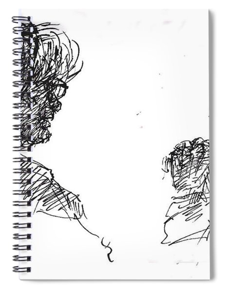 Old Ladies Talking Spiral Notebook
