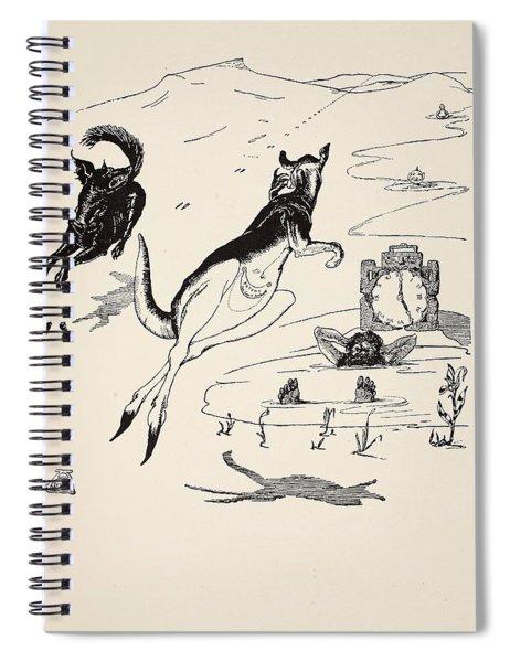 Old Man Kangaroo At Five Spiral Notebook