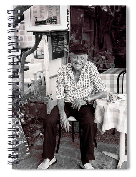 Old Man Of Old Town Spiral Notebook