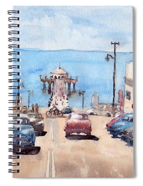 Old Manhattan Beach Spiral Notebook