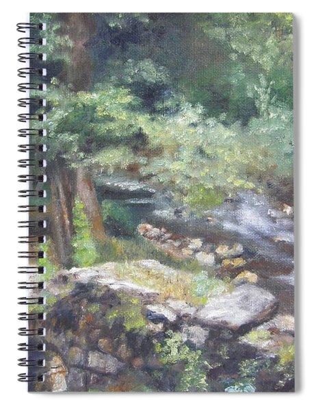 Old Mill Steam II Spiral Notebook