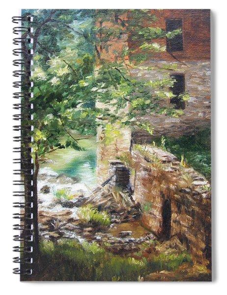 Old Mill Stream I Spiral Notebook