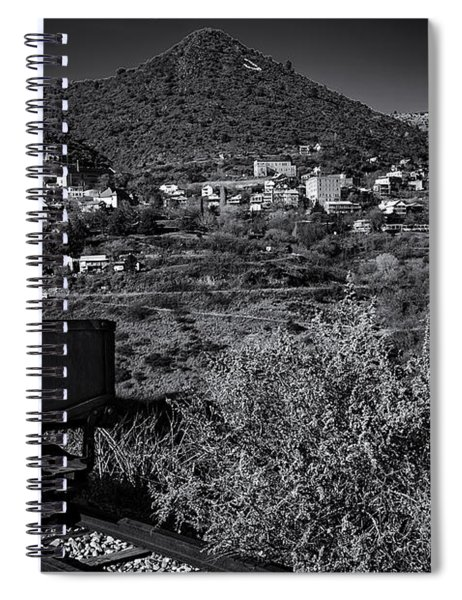 Old Mining Town No.23 Spiral Notebook