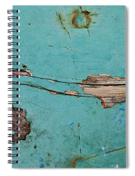 Old Ocean - Abstract Spiral Notebook