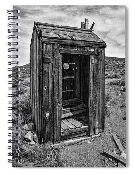 Old Outhouse Spiral Notebook
