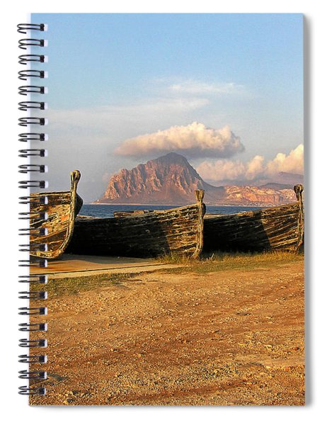 Aquatic Dream Of Sicily Spiral Notebook