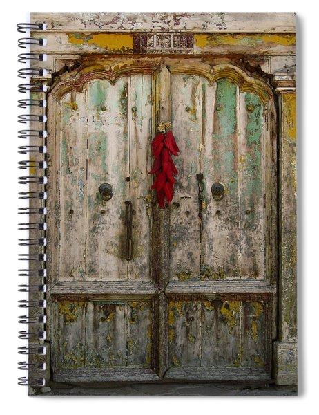 Old Ristra Door Spiral Notebook