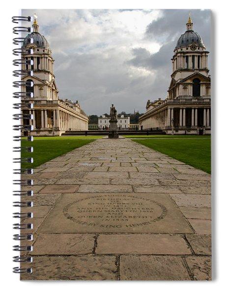 Old Royal Naval College Spiral Notebook