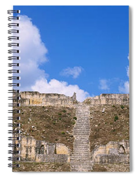 Old Ruins Of A Temple, El Caracol, Cayo Spiral Notebook