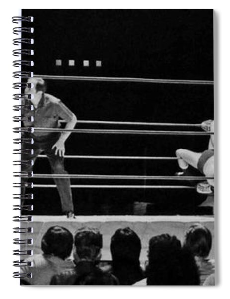 Old School Wrestling From The Cow Palace With Pat Patterson And Mr Fuji  Spiral Notebook