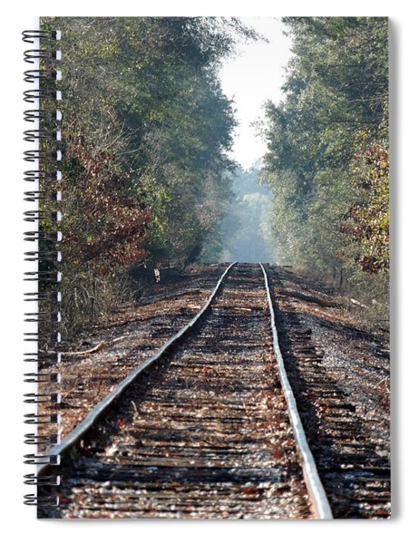 Old Southern Tracks Spiral Notebook