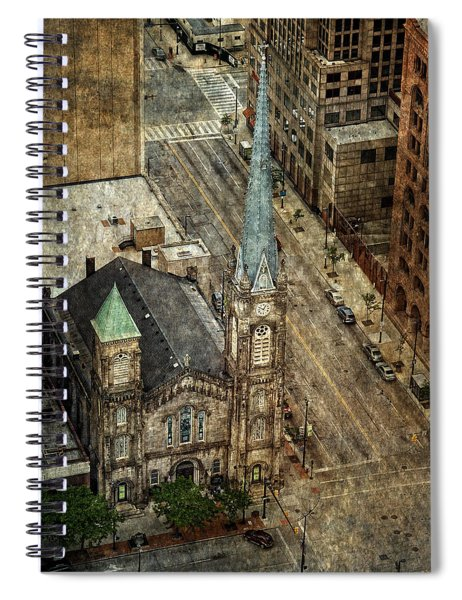 Old Stone Church Spiral Notebook