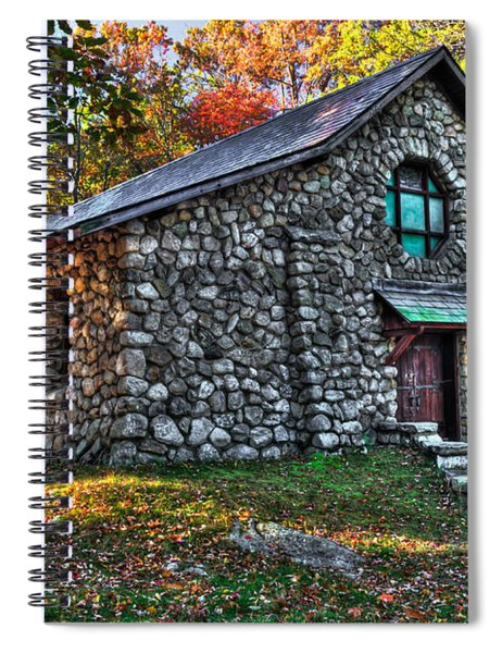 Old Stone Lodge Spiral Notebook