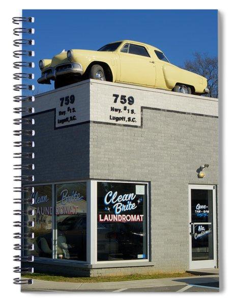 Old Studebaker Building Spiral Notebook