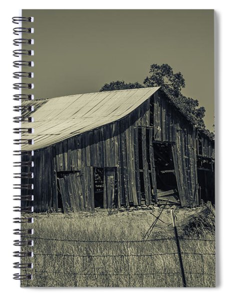 Old Time Barn Spiral Notebook