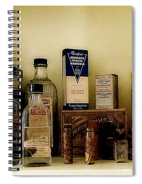 Old-time Remedies Spiral Notebook