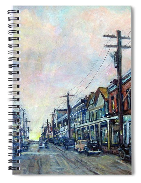 Old Virginia City Spiral Notebook