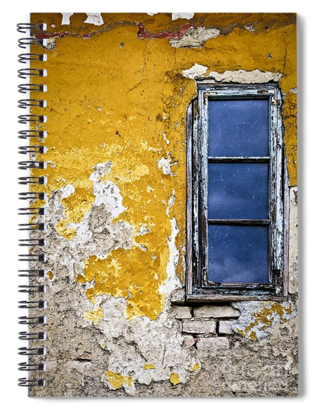 Old Wall In Serbia Spiral Notebook