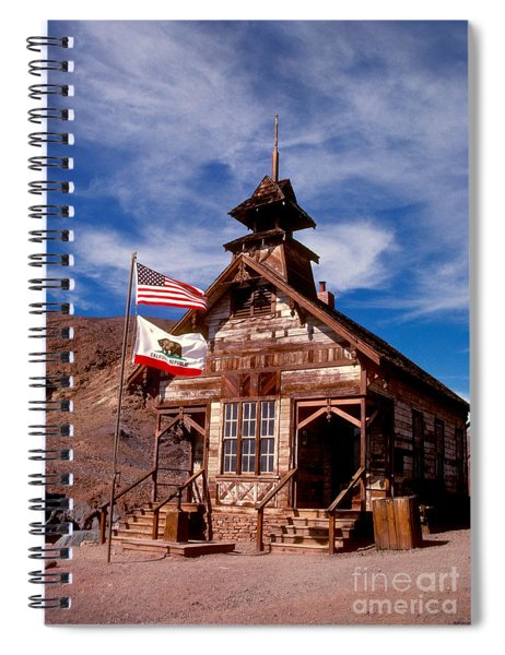 Old West School Days Spiral Notebook