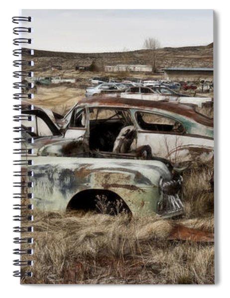 Old Wrecks Spiral Notebook