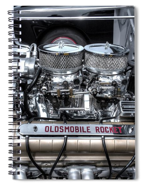 Olds Rocket Spiral Notebook