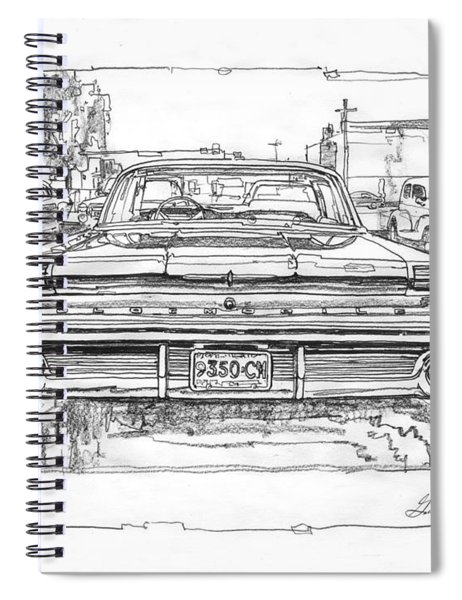 Oldsmobile 88 Study Spiral Notebook