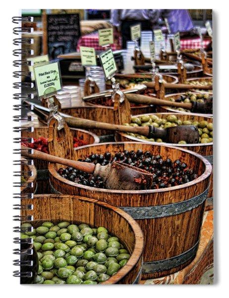 Olives Spiral Notebook