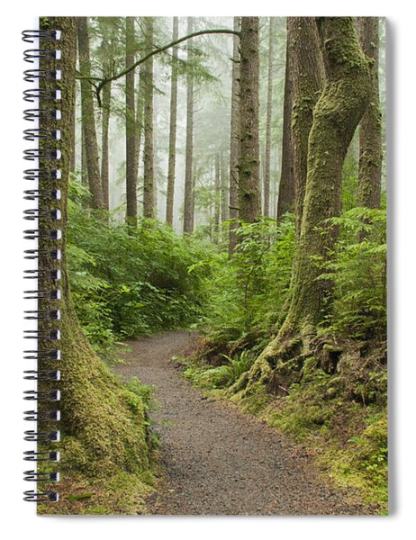 Olympic Park Trail Spiral Notebook