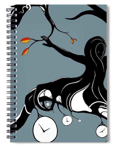 On A Limb Spiral Notebook