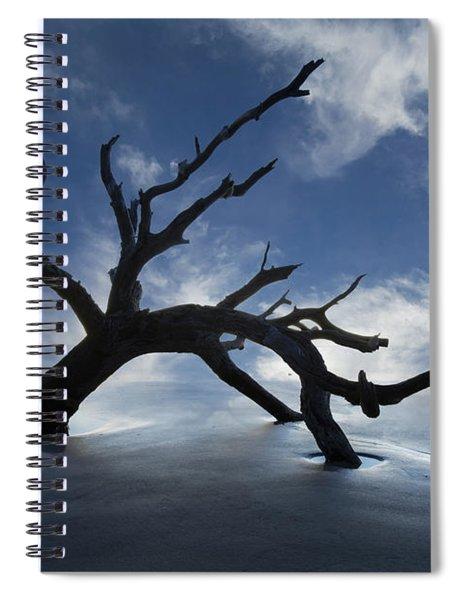 On A Misty Morning Spiral Notebook