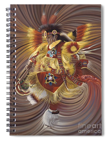 On Sacred Ground Series 4 Spiral Notebook