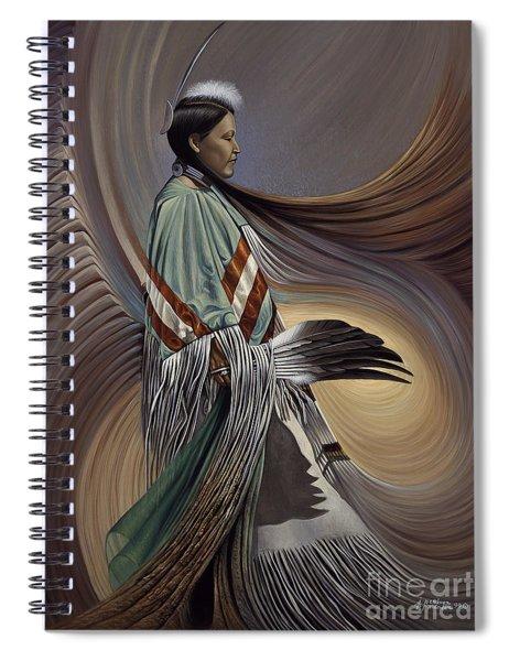 On Sacred Ground Series I Spiral Notebook