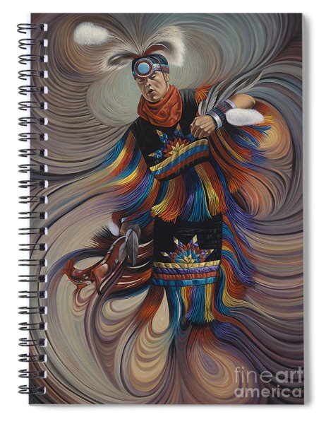 On Sacred Ground Series II Spiral Notebook