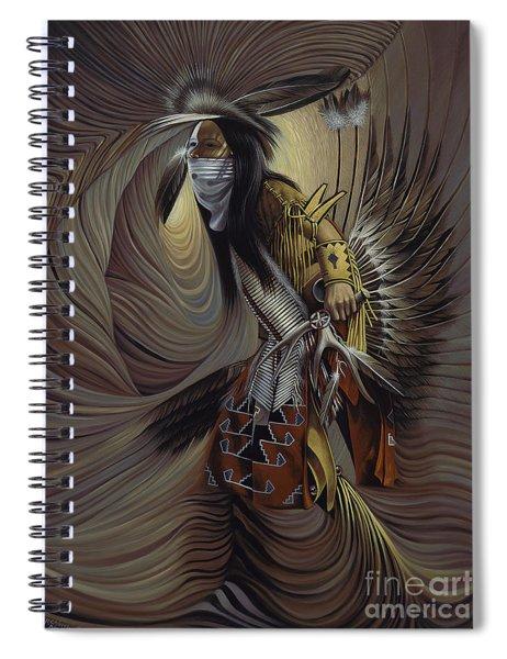 On Sacred Ground Series IIl Spiral Notebook
