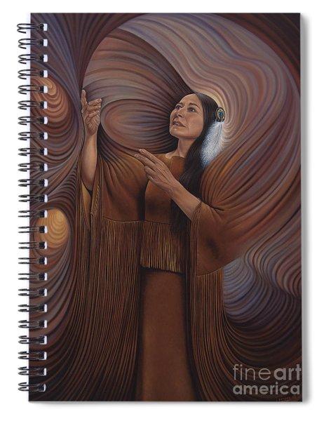 On Sacred Ground Series V Spiral Notebook