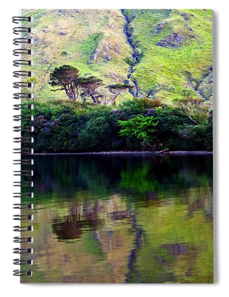 On The Banks Of Kylemore Lake Spiral Notebook