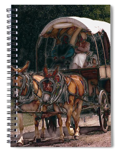 On The Bozeman Trail Spiral Notebook