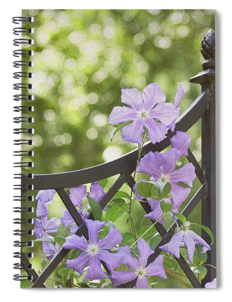 On The Fence Spiral Notebook
