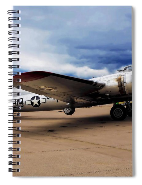On The Ramp Spiral Notebook
