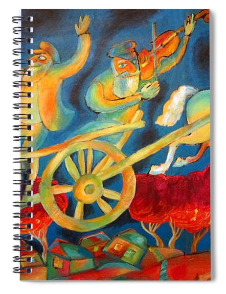 On The Road To Rebbe Spiral Notebook