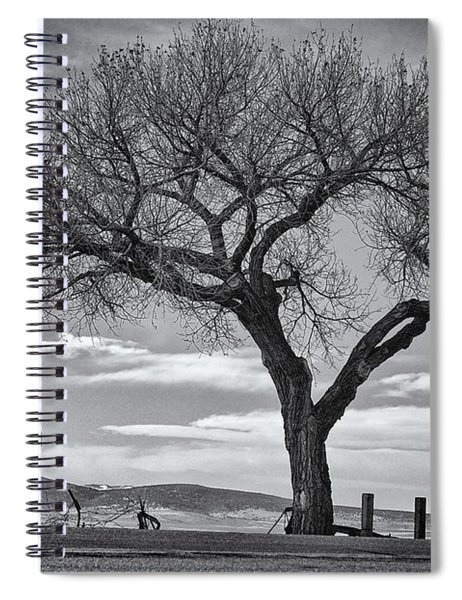 On The Road To Taos Spiral Notebook