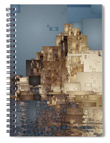 On The Rocks Spiral Notebook