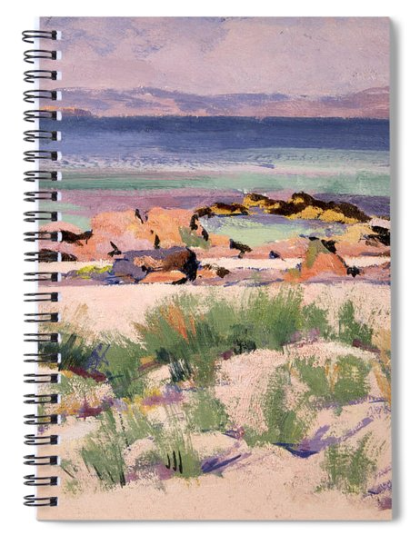 On The Shore  Iona  Spiral Notebook