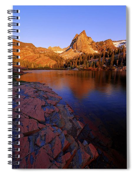 Once Upon A Rock Spiral Notebook